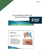 Farmacologia Clinica Da Resposta Inflamatória-convertido
