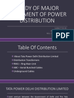 Study of Major Equipment of Power Distribution
