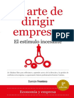 El Arte de Dirigir Empresas - Damian Frontera Roig