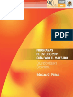 Programa de Edu Fisica Sec 2011