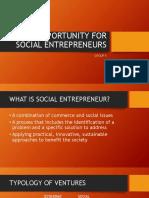 Opportunity for Social Entrepreneurs (1)