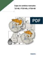 Cajas de Cambios Manuales VT2214B VT2514B y VT2814B