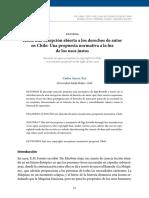 HAcia Una Excepción Abierta a Los Derechos de Autor en Chile_una Propuesta Normativa a La Luz de Los Usos Justos
