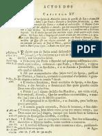 Novo Testamento Almeida 1693 - Atos Dos Apóstolos (Do Capítulo XV Até O Capítulo XVIII)