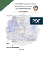 Variación de Precios Terminal (1)