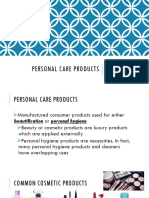 17. Personal Care Products