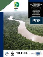 Tendencia de La Gobernanza Forestal Ecuador Colombia y Peru