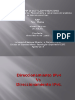 Direccionamiento IPv4 Vs Direccionamiento IPv6.Yhon_Parra.pptx