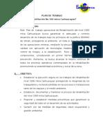 Plan de Trabajo Cierre Nivel 1000 Carhuacayan Final