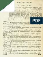 Novo Testamento Almeida 1693 - Evangelho de Lucas (Do Capítulo XII Até O Capítulo XXIV)
