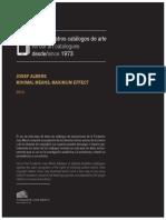 Josef Albers Minimal Means Maximum Effect
