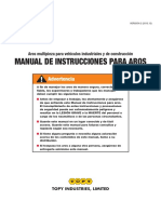 Topy Instructional Manual Spanish