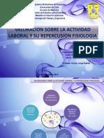 Valoracion Sobre Actividad Laboral Repercusion Fisiologia