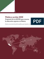 Visión y acción 2030
