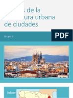 Analisis de Estructura Urbana de Ciudades