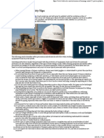 15 Power Plant Safety Tips -B&W