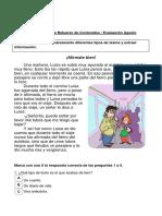 Guía Repaso Evaluación Lenguaje Tipos de Textos