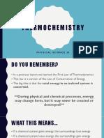 exothermic vs endothermic