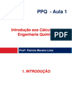 Aula 1 - Unidades, Dimensoes, Variaveis de Processo-2018