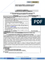 Formulario Diagnosticos Ambientales Categoria b2 o c