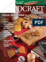 Woodcraft Magazine - Issue #080 - Dec 2017, Jan 2018 - Special Holiday Issue!