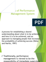 Theories of Performance Management System