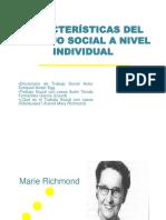 Características del trabajo social a nivel individual