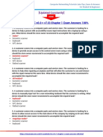 IT Essentials (ITE v6.0 + v7.0) Chapter 1 Exam Answers 100%