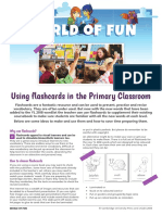 Using Flashcards in the Primary Classroom