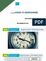Presentacion Ergonomia vs Disergonomia