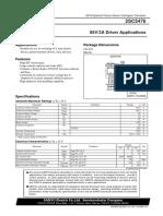 Datasheet Transistor C5476