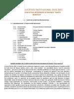 PEI- 2019 I.E.I.N°64138-B Santa Rosita-B