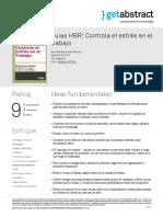 Guias Hbr Controla El Estres en El Trabajo Review Es 32706