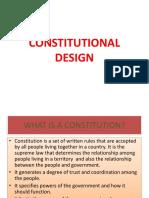 03 Constitutional Design