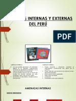 amenazas internas y externas en el perú