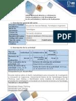 Guía actividades y rúbrica evaluación - Paso 2 - Metodologías para diseño de proyectos de TI (1)