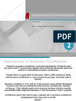 Approaches to Business Architecture.pdf