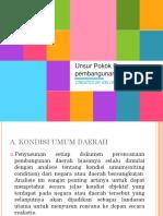 Ppt Kelompok 6_ Unsur Pokok Perencanaan Pembangunan