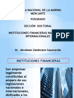 INSTITUCIONES FINANCIERAS - DOCTORADO