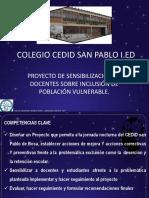 Proyecto de Sensibilización de Docentes Sobre Inclusión de Población Vulnerable (1)