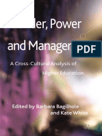 Barbara Bagilhole, Kate White - Gender, Power and Management_ a Cross-Cultural Analysis of Higher Education -Palgrave Macmillan (2011)