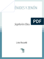 Rossetti Livio - Parmenides Y Zenon