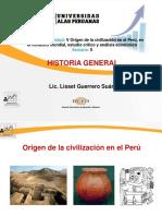 Semana 5-Origen de La Civilización en El Perú