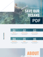 Save Our Oceans Social Media by Slidesgo