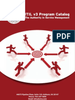 ITIL v3 Program Catalog2
