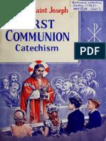 Catecismo de Primera Comunion en Ingles
