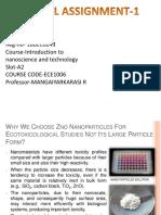 Nanoscience and Technology