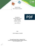 Unidad 2 Tarea 2 - Conceptos Básicos de Absorción de Nutrientes