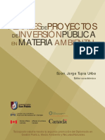 Perfiles de Proyectos Inversion Publica Materia Ambiental Tomo II