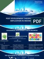 Task 6 - Post Development in Indonesia (Wiscana AP)